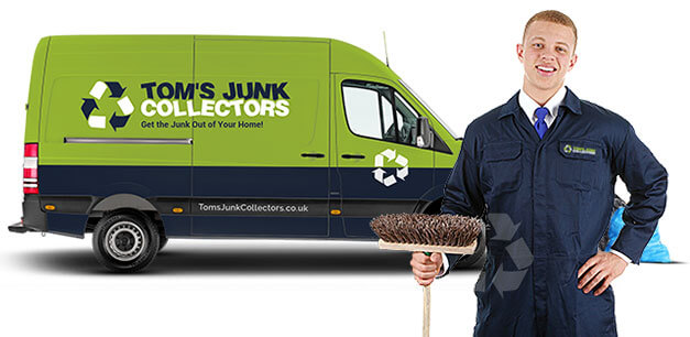 Tom's Junk Collectors Rubbish Removal Truck