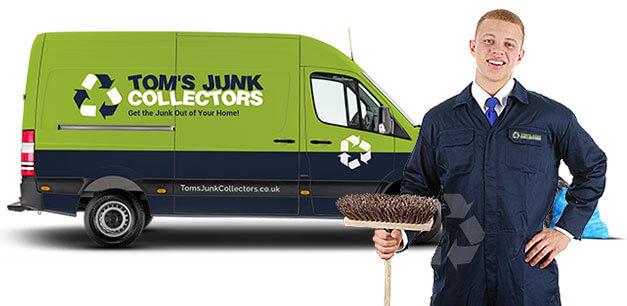 Tom's Junk Collectors Rubbish Removal Truck