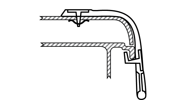 A scheme of the way BinStrap is mounted