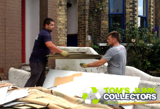 Professional Junk Removal in London by Tom's Junk Collectors